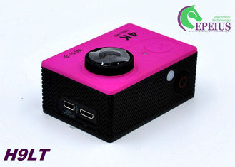 China Mini 30M H9 LT 4k Sports Action Camera With Seven Colors Full Accessories supplier