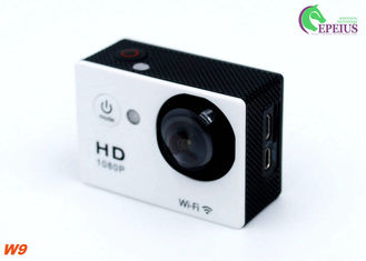 China Wireless Full HD 1080P 30fps Waterproof Wifi Camera For Skiing / Hiking / Surfing supplier