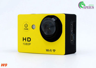 China 4K WiFi Sport DV 1080P HD Action Camera With Rechargeable 900mAh Liothlum Battery supplier