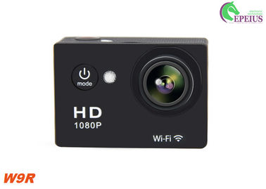 China Small 2.4G Remote W9R Waterproof Wifi Action Camera HD 1080P For Outdoor Sports supplier