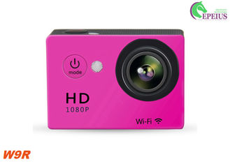 China Portable 10FPS 4K Sports Action Camera W9R Underwater With Multi Languages supplier