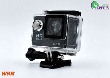 China Ultral 4K OEM W9R 1080P HD Action Camera 2.4G Remote Control With X4 Digital Zoom supplier