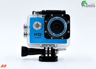 China OEM Logo Mini A9 Full Hd 1080p Sports Camera Underwater 30M Sports DV With USB 2.0 supplier