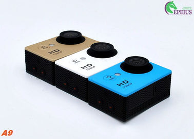 China 2.0 Inch 1080P Waterproof Action Video Camera , A9 Waterproof 30M Wide Angle Action Camera supplier