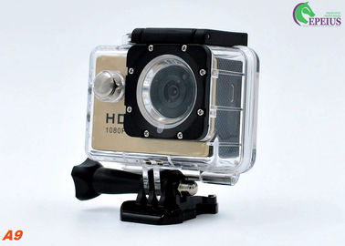 China A9 Waterproof Motorcycle Cycling Video Camera Sj4000 Mini Pro TF Card Max 32G supplier