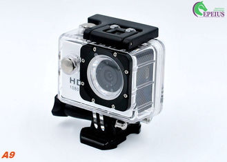 China Diving 5MP Head Camera Waterproof ,  A9 140degree Lens Gopro Bike Helmet Mount Cam supplier