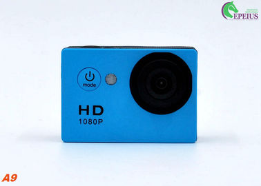 China Seven Color A9 Waterproof Action Camera Sunplus SPCA1521 With Full Accessories supplier
