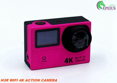 "China Outdoor WIFI Remote Control Action Camera H3R Hidden 2.0"" Dual Screen HD Video supplier"