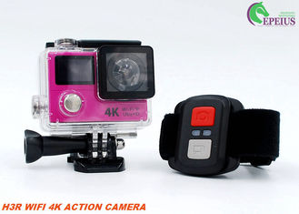 China 12MP 1050mAh Sports Dual Screen Action Camera H3R 2.4G Controller Slim Wifi Mini supplier