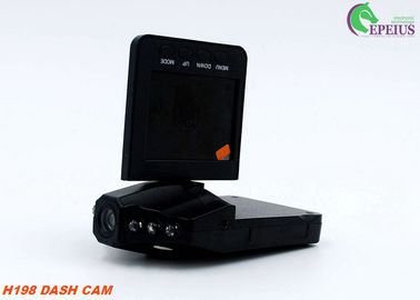 "China Mini H198 720P Dual Dash Cam With Parking Mode / 6 Night Led / 2.4"" TFT Display supplier"