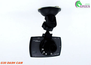 China HD 720P 90 Degree G30 Front Rear Dash Cam 2.4 Inch Screen 120 Degree G - Sensor supplier