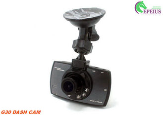 China 720P Car Sensor  G30 Night Vision Dash Cam Roof Mount Manual With 2.4'' TFT LCD Display supplier