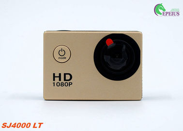 China Golden Full HD 720P Waterproof Sports Action Camera With 1.3 Mega Pixel HD CMOS Sensor supplier