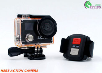 "China 2"" LCD Dual Screen Cycling Action Camera , Waterproof Go Extreme Action Cam 4K supplier"