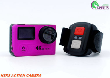 China 30FPS 4K Ultra HD Action Sports Camera 2.4G Remote With VR 180 Degree Video Recording supplier