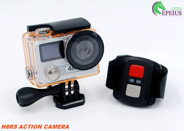 China VR 360 Dual Screen Action Camera H8RS 2.4G Remote with 170 Lens Waterproof supplier