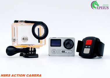 China H8RS Diving 30M 4k Sports Action Camera With 2.0 Inch Remote Dual Screen supplier