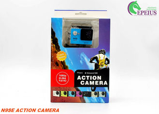China Mini Cube 1080P HD Action Camera 2 Inch LCD Wifi For 30M Underwater Sports supplier