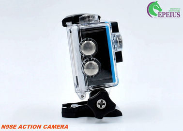 Mini Cube 1080P HD Action Camera 2 Inch LCD Wifi For 30M Underwater Sports
