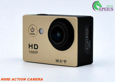 China Mini N9SE Waterproof Hd Sports Camera , 140D Extreme Adventure Hd Action Sports Camera  supplier