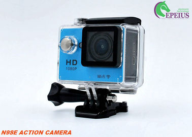 "China 2"" Screen Full Hd 1080p Action Camera , Waterproof 30M WIFI 4k Sports Camera supplier"