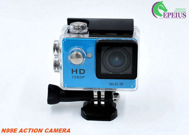 "China WIFI Gopro Underwater Camera N9 1080P , Full HD 2"" Inch Screen Helmet Mounted Camera  supplier"