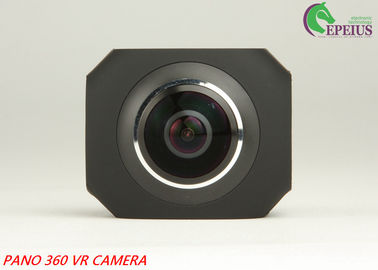 China High Speed Dual Lens 4k 360 Panorama Camera With 2.4G 10 Meters Remote Control supplier