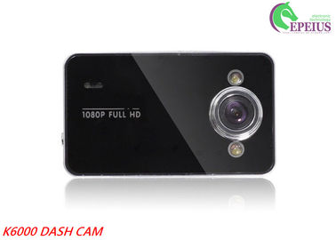China Ultra HD K6000 Car Front Rear Dash Cam Gravity Sensor For Fast Warning supplier