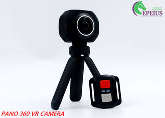 China Sports Hd Dv Waterproof Action Camera , 360 VR Extreme Sports Camera Hand Held Tripod supplier