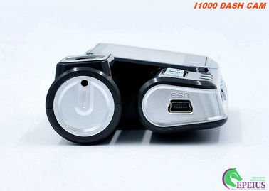 China Instantaneous Data Protection 	Dual Lens Dash Cam 120 Degree With Gravity Sensor supplier