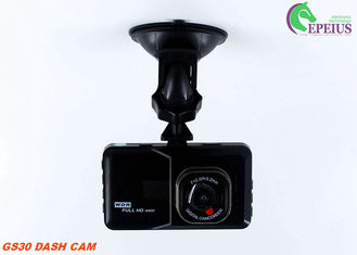 GS30 1280*720 Car Dvr Camera Anti Shake 120 Degree With Microphone / Spearker