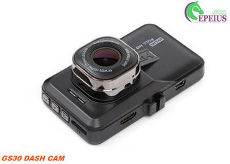 China Cycle Recording Mini Dash Cam GS30 1 / 4'' CMOS Sensor 3.0'' LCD Parking Monitor supplier