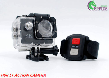 China Waterproof 2.0 Inch 4K 30fps Action Camera Remote Control For Diving Sports supplier