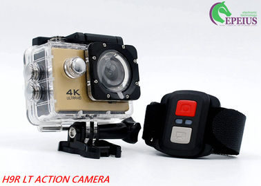 Waterproof 2.0 Inch 4K 30fps Action Camera Remote Control For Diving Sports