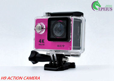 "China 170 Degree Sports Cam Hd Action Camera H9 WiFi With 2.0"" Screen SPCA 6350 supplier"