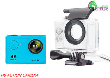 China 4K Ultra HD Waterproof Action Camera H9 1080P With 170 Wide Angel / Wifi Control supplier