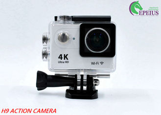 "China 170D Lens Waterproof Action Camera H9 WiFi 4K 2""LCD High Speed Sport Camcorder supplier"