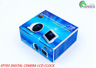 China IR Night Vision Wifi Camera Clock Motion Detection Wireless IP 1080P HD supplier