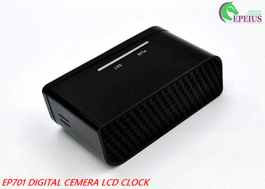 China 12 Hours Recording Clock With Hidden Camera , Hidden Wireless Security Cameras supplier