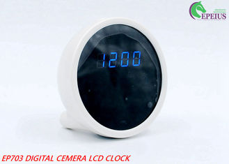 China Mini SPY 1080P Wifi Hidden Camera Clock P2P Security With Pinhole Round supplier