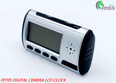 China Remote Control Wifi Camera Clock Full HD 720P P2P Network For Home / Office Security supplier