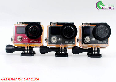 Ultra HD 4K Sports Hd 1080p Dv Water Resistant Action Camera With Acrylic Packaging 14MP