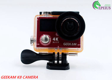China 14MP Waterproof Action Camera Panasonic CMOS With Aluminium Alloy Front Cover HDMI Wifi supplier