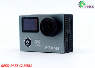 China Underwater 30M HDMI 4k Sports Action Camera K8 Wifi 1080P 120fps With Dual Display supplier