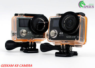 China Waterproof 30 M Dual Screen Action Camera 17 0Degree 360 VR 4K With Continuous Shooting supplier