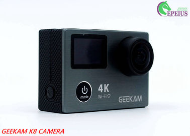 China Anti Shake Dual LCD 1080P HD Action Camera 2.4G Remote Wifi With 170° Wide Angle Lens supplier