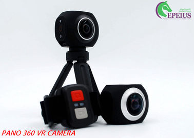China Panoramic VR Dual Lens Remote Control Action Camera Original Eken 2.4G distributor