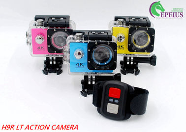 China 140 Degree Full Hd 1080p Wifi Action Camera With Single / Continuous Shooting Mode distributor