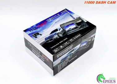 China Ultra 1080P I1000 Dual Lens Dash Cam  Loop Recording With 2.0 Inch Screen H.264 distributor