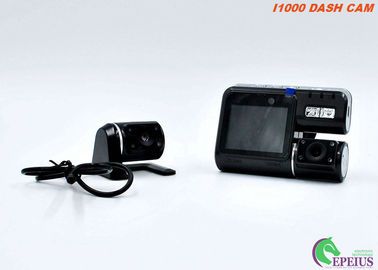 China Night Vision Car Camera With 170 Degree Width Angle , Dual Lens Car Recording Camera  distributor